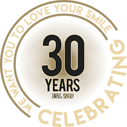 Rancho Dental 30 Year Logo